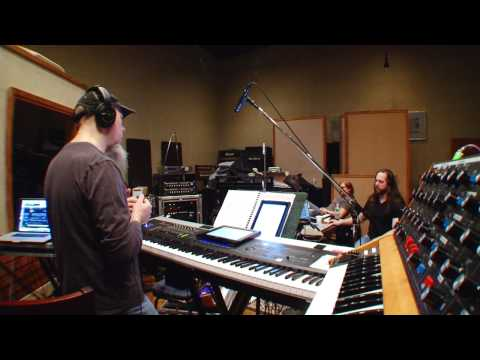 a dramatic turn of events - Take a look inside the studio at the recording process for