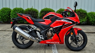 9. 2017 Honda CBR300R Review of Specs | Sport Bike / Motorcycle Walk-Around | CBR 300 R
