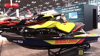 10. 2015 Sea-Doo GTR 215 Jet Ski - Walkaround - 2015 New York Boat Show