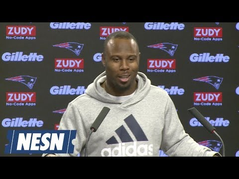 Video: James White Patriots vs. Rams Super Bowl LIII 01/23 Press Conference