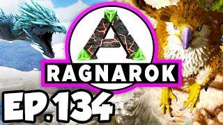 ARK: Ragnarok Ep.134 - ALPHA MANTICORE & DRAGON DINOSAURS BOSS BATTLES! (Modded Dinosaurs Gameplay)