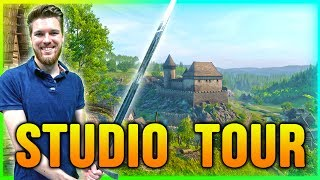 Kingdom Come Deliverance Studio Tour!► 2nd Channel: https://www.youtube.com/channel/UCQDdfoT-ac7mJXZhKPjvKDw● ESO Apparel: https://shop.bbtv.com/collections/eso?view=all● Support me on Patreon: https://www.patreon.com/ESO► RELATED GUIDES• E3 Live Stream: https://www.youtube.com/watch?v=EVkRn4QxJ_A&index=16&list=PLl_Xou7GtCi4_wKuMNjpKyX6Hta58AwSJ• Full Beta Walkthrough: https://www.youtube.com/watch?v=N9mD3XjVHC8&list=PLl_Xou7GtCi4_wKuMNjpKyX6Hta58AwSJ• Archery Gameplay: https://www.youtube.com/watch?v=PaSnfMHZfYU&index=13&list=PLl_Xou7GtCi4_wKuMNjpKyX6Hta58AwSJ• Close Combat Gameplay: https://www.youtube.com/watch?v=DbzYC70X0lc&index=5&list=PLl_Xou7GtCi4_wKuMNjpKyX6Hta58AwSJ► SOCIAL MEDIA•  Facebook: https://www.facebook.com/ESOSquad/•  Twitter: https://twitter.com/ESO_Danny?lang=en•  Instagram: https://www.instagram.com/eso_danny/•  My Recording Setup: https://kit.com/ESO•  Discord: https://discord.gg/m6h5A6J•  Twitch: https://www.twitch.tv/eso_youtube► DISCOUNT GAMES• Elder Scrolls Games: https://www.g2a.com/r/all-skyrim-games • Fallout Games: https://www.g2a.com/r/fallout-games • All Games: https://www.g2a.com/r/other-all-games► CREDITS: A Special Thanks to my Patron supporters: Josepth Marchio, Chris Jacobsen, Teb Tengri, Anastasia Paulson------------------------------------