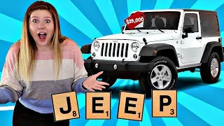 Video I'll BUY Whatever You Can SPELL Challenge! 😱🏎️💰 Taylor and Vanessa MP3, 3GP, MP4, WEBM, AVI, FLV Juni 2019
