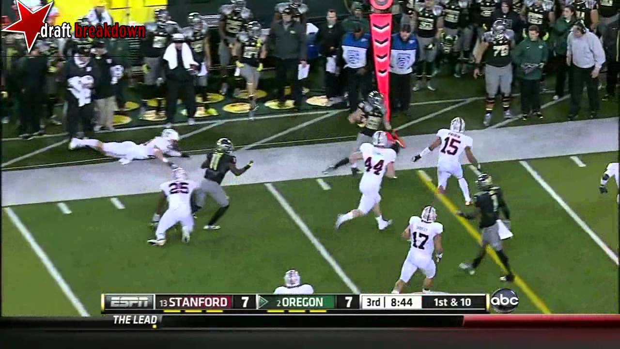 Josh Huff vs Six Teams (2012)