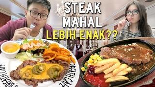Video Steak Rp 200.000 vs Rp 50.000 !!! MP3, 3GP, MP4, WEBM, AVI, FLV Agustus 2018