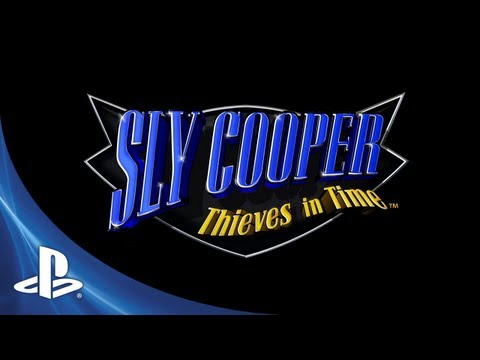 Sly Cooper Thieves in Time PS Vita Trailer
