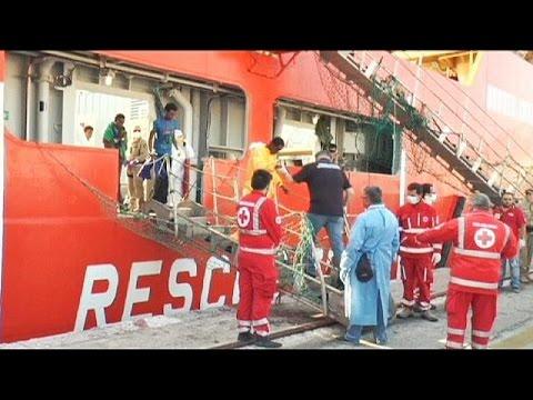 Ιταλία: Επιχείρηση διάσωσης 500 μεταναστών