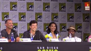 see the panel for the next season of The Flash from Comic-Con San Diego 2017 SDCC. With