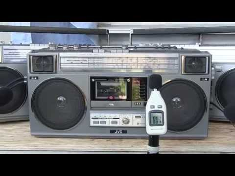 JVC RC-50JW Boombox Electronic Echo CD Cassette Mp3 Radio For Sale