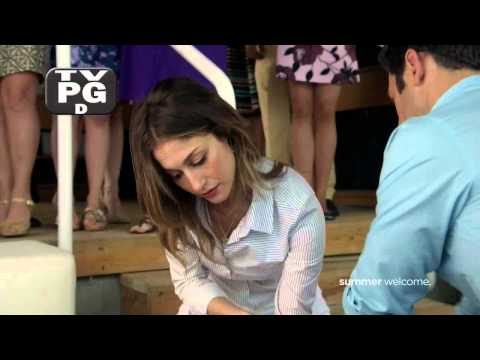 "Kat Foster in ""Royal Pains"" 4x05 - Clip 1"