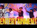 This Is Our Entertainment | Arts Day FUNNY Dance 2018 | Rajadhani IET | ZERRON 2K18 | CSE KINGZ