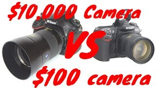 Video $10,000 Camera VS $100 Camera MP3, 3GP, MP4, WEBM, AVI, FLV Juli 2018