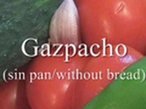 Gazpacho para todos cocina for Youtube cocina para todos