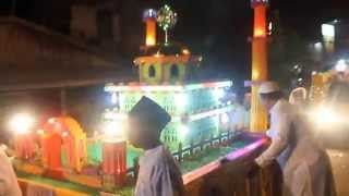 Pawai Takbiran malam Idul Fitri 1435 H di Kota Kuala Tungkal (9 of 26).