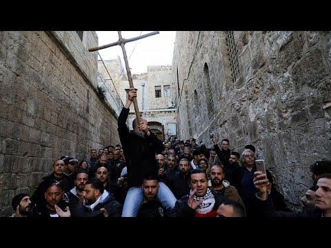 Ιεροσόλυμα: Ανοιχτός και πάλι ο Ναός της Αναστάσεως