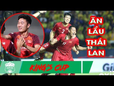 Xuân Trường kiến tạo đẳng cấp, Anh Đức ghi bàn ở những giây cuối cùng  tại King's Cup 2019 - Thời lượng: 3:33.