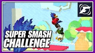 Shinin till he Starts Cryin | Super Smash Challenge