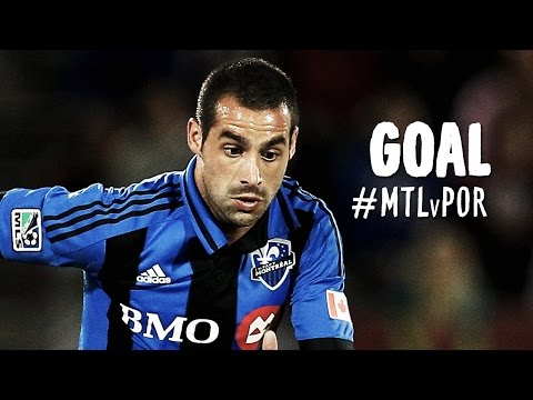 Video: GOAL: Andres Romero rips it in with a devastating blast | Montreal Impact vs. Portland Timbers