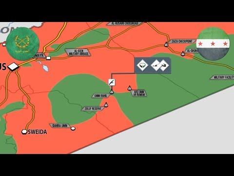 2 августа 2017. Военная обстановка в Сирии. Боевики США сдаются сирийской армии. Русский перевод.