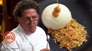 Video Marco Pierre White Marks This Dessert As 'The Greatest' | MasterChef Australia | MasterChef World MP3, 3GP, MP4, WEBM, AVI, FLV Mei 2019