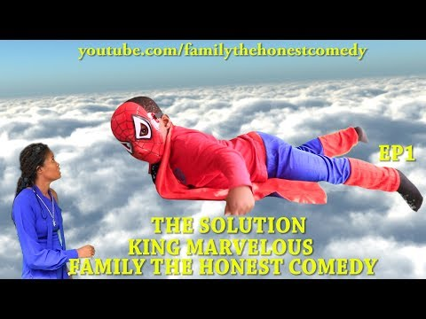 FUNNY VIDEO (THE SOLUTION) (KING MARVELOUS) (Family The Honest Comedy) EP1