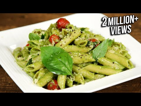 How To Make Pesto Pasta | Penne Pasta With Pesto Sauce | The Bombay Chef – Varun Inamdar