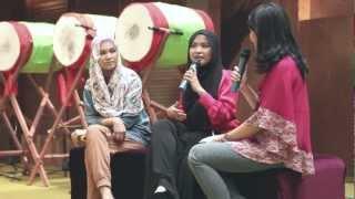 VIDEO TUTORIAL HIJAB SEGI EMPAT
