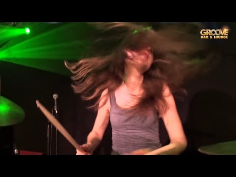 Sina Drum Cam • Savage (The Gäs Live at the Groove Bar)