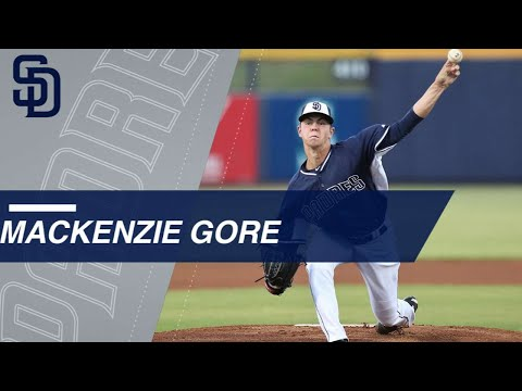 Video: Top Prospects: MacKenzie Gore, LHP, Padres