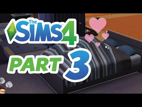 The Sims 4 Gameplay Walkthrough Part 3 – WOOHOO & GIRLFRIEND