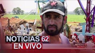 A un mes de la explosión de gasoducto en Hidalgo México. – Noticias 62. - Thumbnail