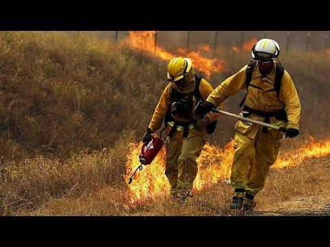 ΗΠΑ:Μαίνονται για έκτη ημέρα οι πυρκαγιές στη Βορεια Καλιφόρνια