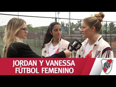 Jordan y Vanessa, jugadoras estadounidenses fichadas en River Plate
