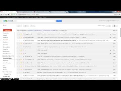 how to locate archived email in gmail