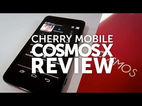 Cherry Mobile Cosmox X Video Review - 9,999 HD Super Amoled Screen 1.2GHz Quad Core Mediatek