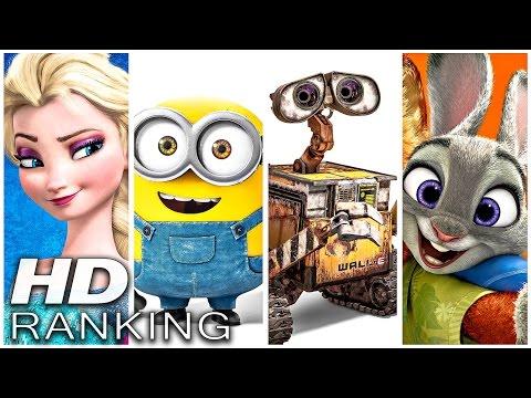 Die BESTEN Animationsfilme der letzten 10 Jahre