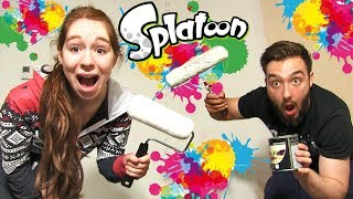 Video SPLATOON CHALLENGE en COUPLE in REAL LIFE !! CA TOURNE MAL ! MP3, 3GP, MP4, WEBM, AVI, FLV Mei 2017