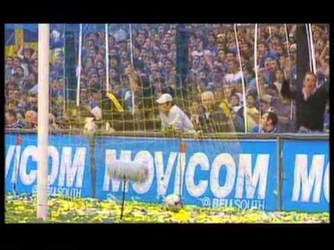 Los goles de Schelotto a River Plate