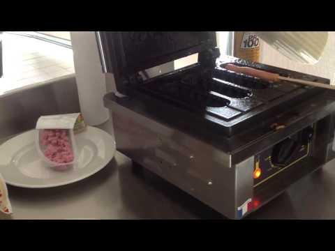 Профессиональная вафельница GES 80