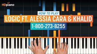 "Video How To Play ""1-800-273-8255"" by Logic ft. Alessia Cara & Khalid   HDpiano (Part 1) Piano Tutorial MP3, 3GP, MP4, WEBM, AVI, FLV Juli 2018"