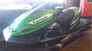 9. 2012 Kawasaki WRTA LA  Ultra 300x Jetski Review/Walk Around
