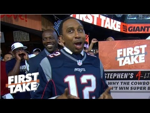 Video: Stephen A. lists the 5 reasons the Cowboys won't win the Super Bowl | First Take