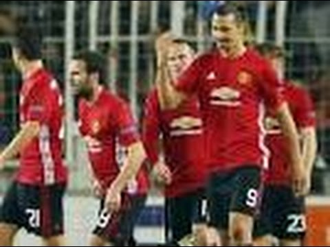 Manchester United vs Fenerbahçe 1-2 all goals & highlight 03/11/2016 HD