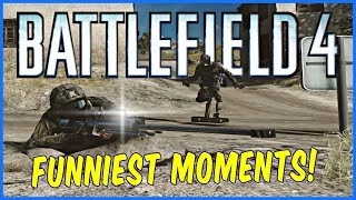 Battlefield 4 HOW ARE YOU NOOBS ? (BF4 TROLLING & FUNNIEST MOMENTS 2018)