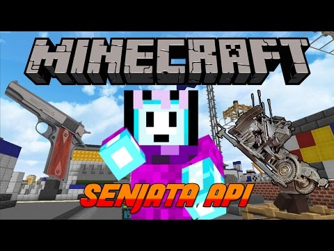 SENJATA API DI MINECRAFT?! | Minecraft Indonesia BeaconCream S2 #12
