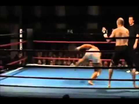Capoeira no MMA (видео)