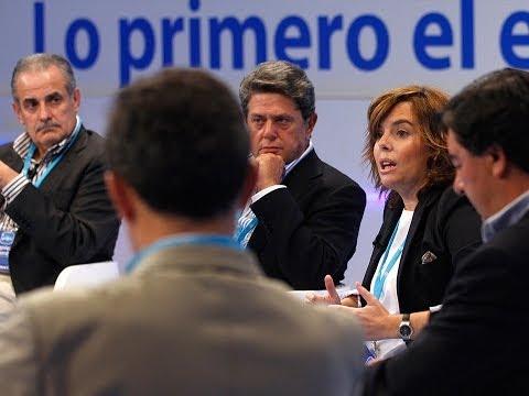Soraya Sáenz de Santamaría: La limitación del mandato obliga a la renovación del proyecto