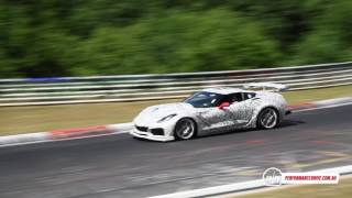 2018 Chevrolet Corvette ZR1 spotted at Nurburgring, (loud) LT5 DOHC V8? Head over to our news story here for more info and images:http://performancedrive.com.au/2018-chevrolet-corvette-zr1-spotted-loud-lt5-dohc-v8-video-0714/Follow us on Facebook and Instagram for more updates.Facebook:http://www.facebook.com/PerformanceDriveInstagram:https://www.instagram.com/performancedrive/
