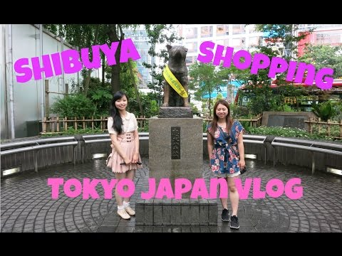 Japan Vlog 2015 - Tokyo Eating And Shopping