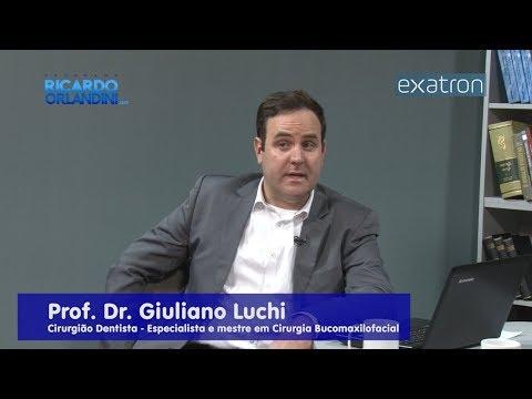 Ricardo Orlandini entrevista o Prof. Dr. Giuliano Luchi, especialista em implantodontia,mestre e doutor em cirurgia bucomaxilofacial.